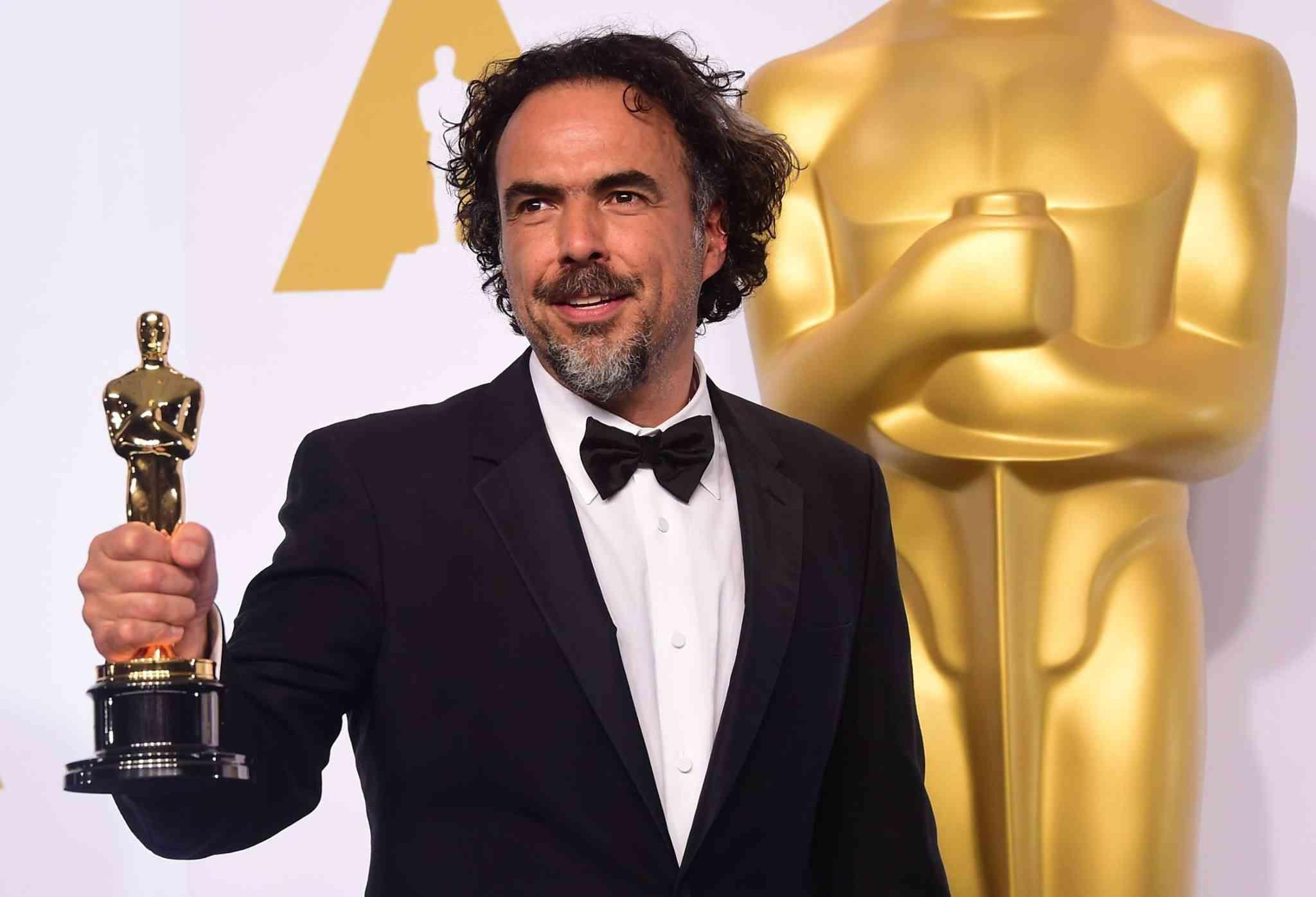 """Alejandro G. Iñárritu - Melhor diretor por """"O Regresso"""""""
