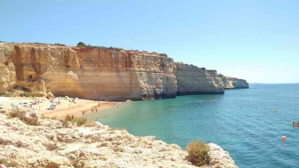 Foto: Praia de Benajil