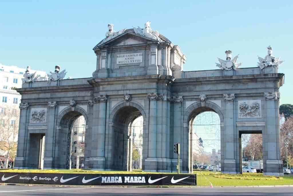 Foto: Puerta de Alcalá.