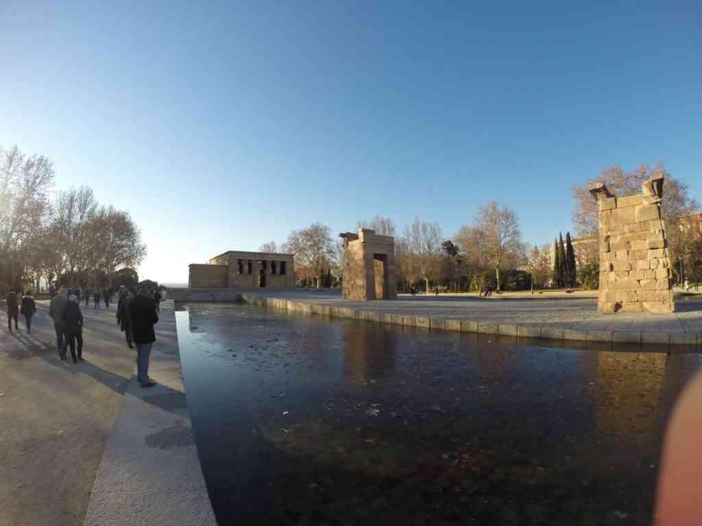 Foto: Templo de Debod.