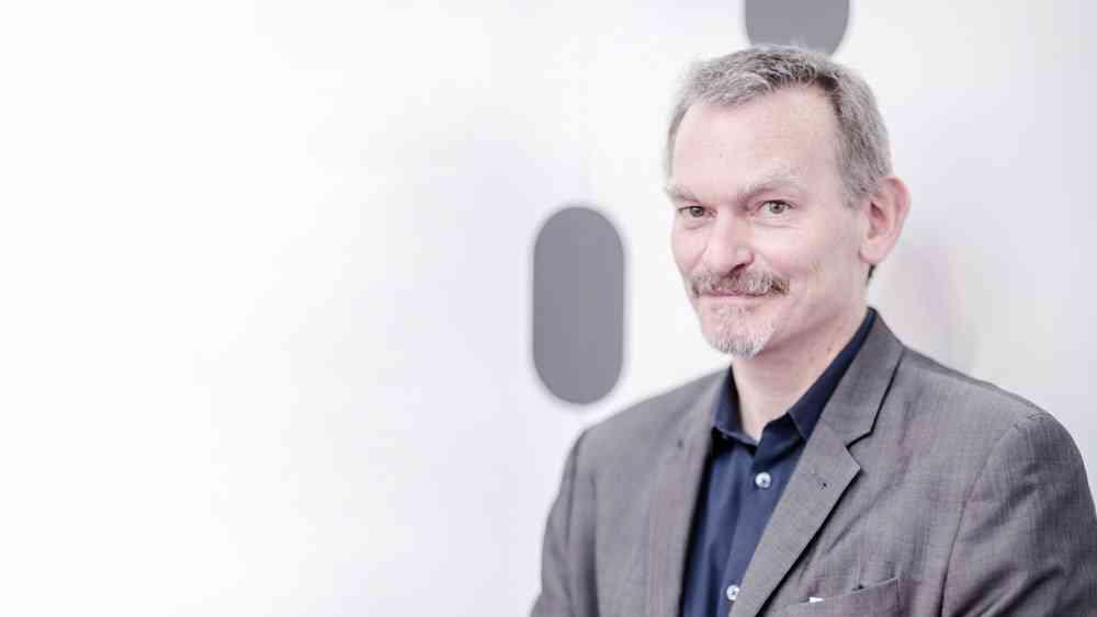 Foto: John Underkoffler – Fundador e CEO da Oblong Industries / Divulgação