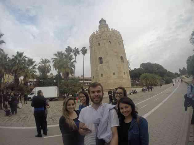 Torre Del Oro.Foto: Aquivo Pessoal / Divulgação.