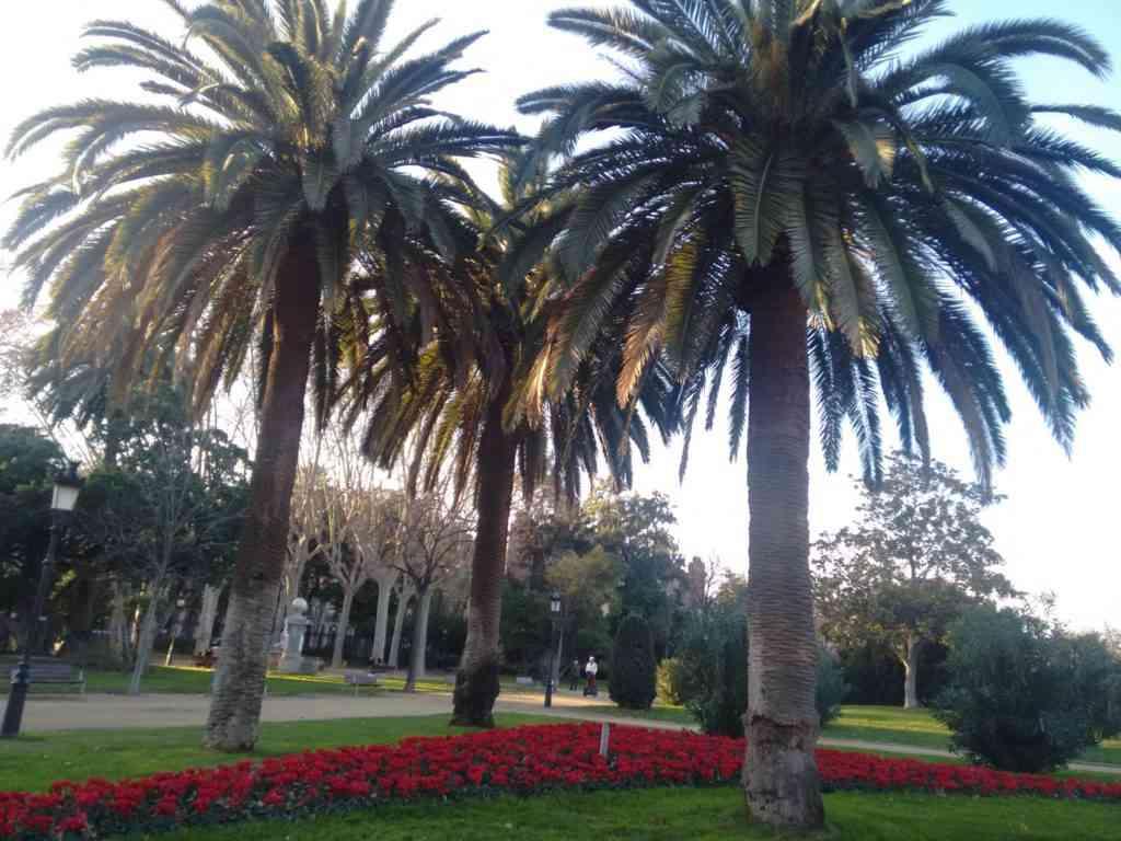 Foto: Vista do Parc de la Ciutadella
