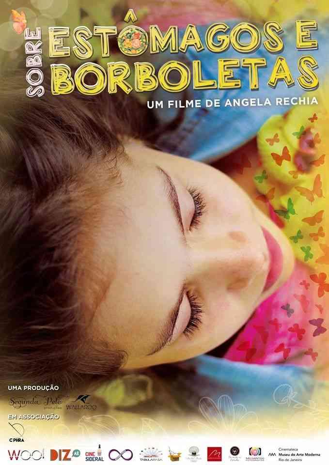 sobre estômagos e borboletas Cartaz