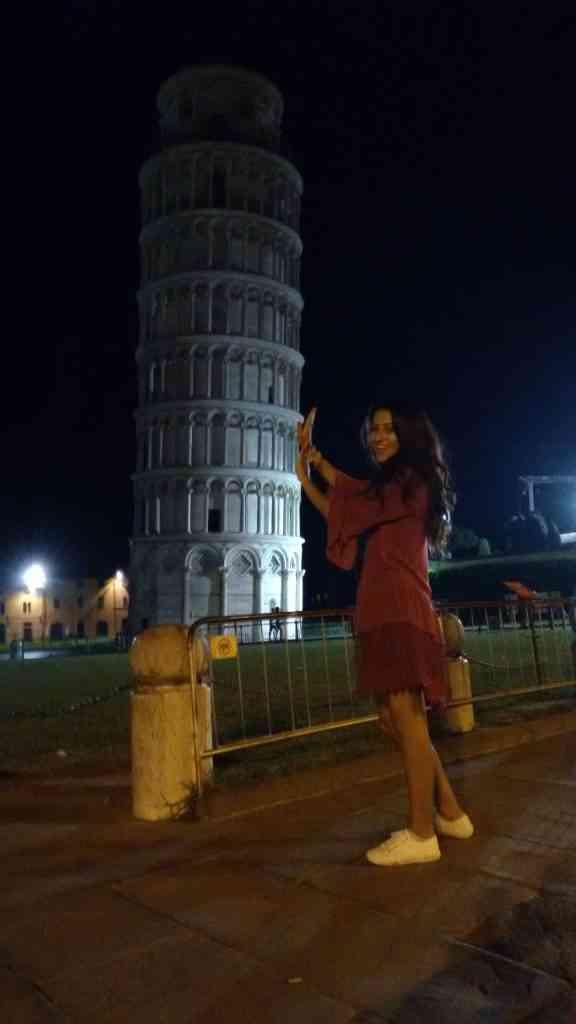A clássica foto com a Torre.