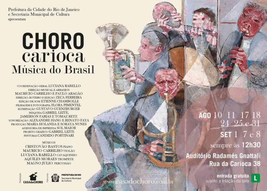 Choro Carioca Música do Brasil_flyer