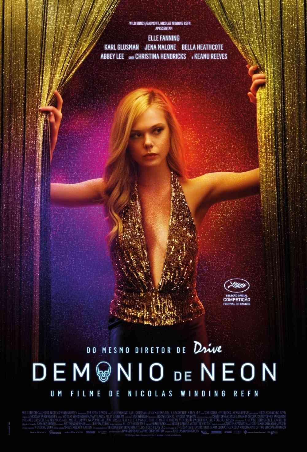 Demônio de Neon Cartaz
