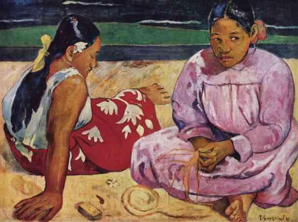 mulheres do taiti gauguin