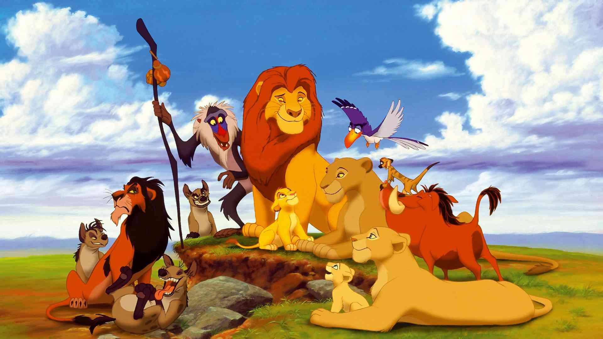 O Rei Leão  - Disney dos anos 90