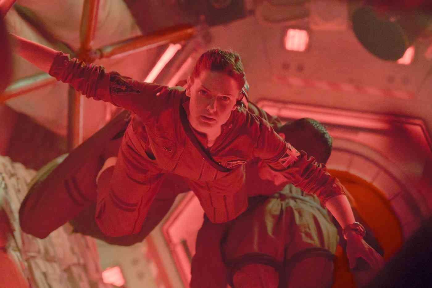 Samanta Ferguson no Espaço