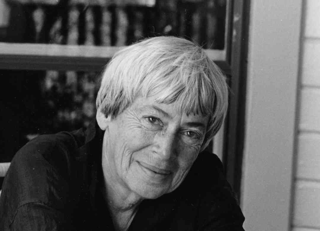 Na foto Ursula Le Guin