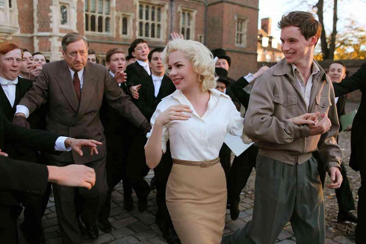 Resultado de imagem para F I L M E  - Sete Dias Com Marilyn