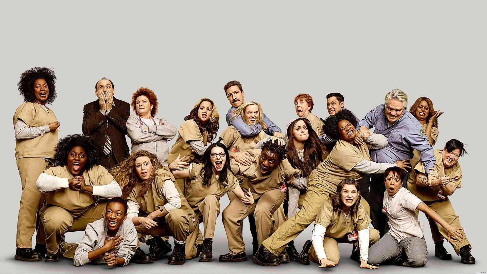 Orange Is The New Black - Cast 1-4 season