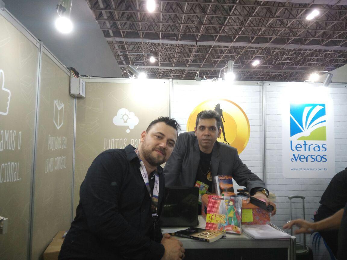 Na foto: Diego Lima e Gustavo Drago