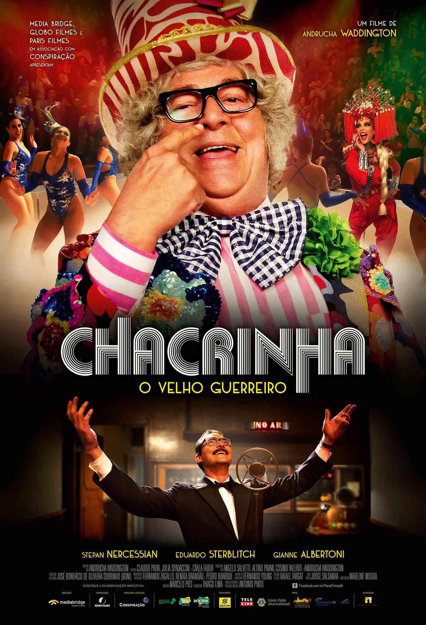 Resultado de imagem para cartaz do filme Chacrinha - O Velho Guerreiro