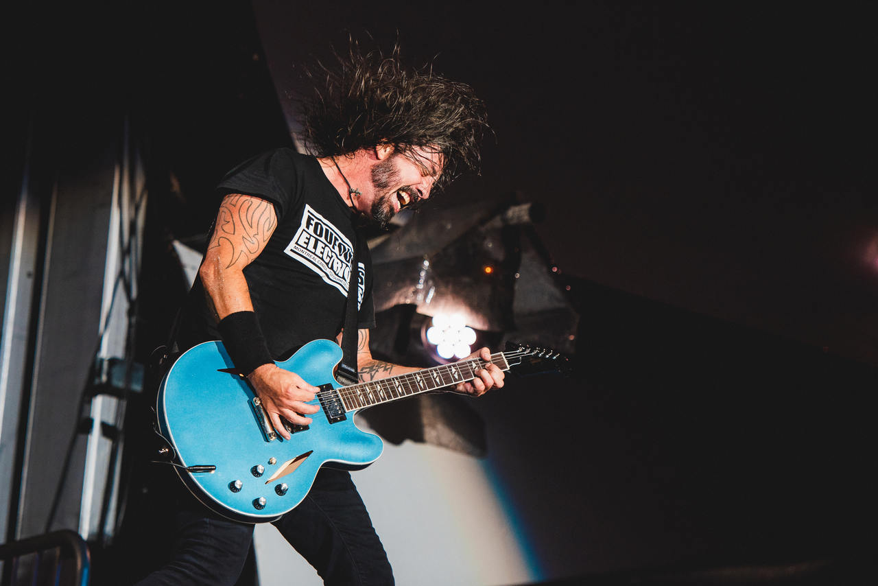 Dave Grohl no Rock In Rio