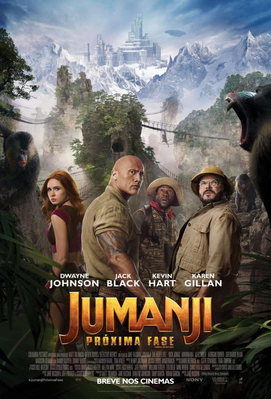 Crítica: Jumanji – Próxima Fase