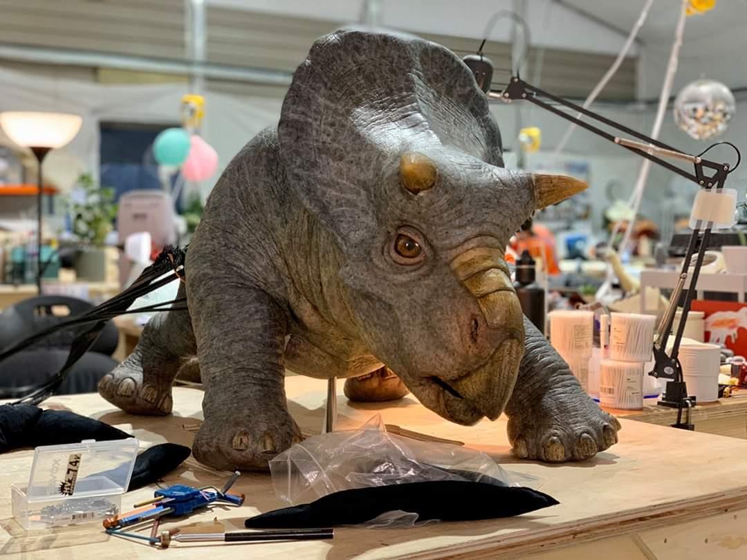 Nasutoceratops para Jurassik Park 3