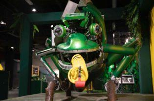 biomecânica de animais robôs