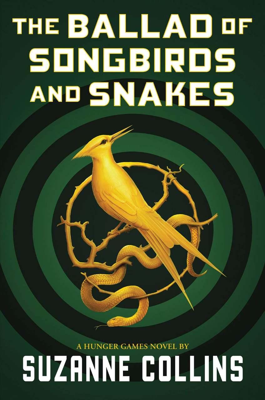 Capa de Jogos Vorazes: A Cantiga dos Pássaros e das Serpentes