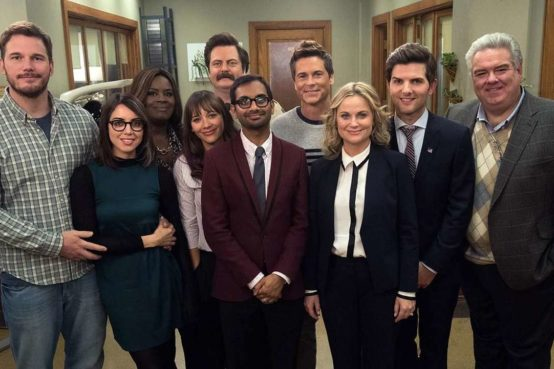 Elenco da série parks and recreation