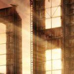 Cartaz de Hollywood, a série da Netflix que adentra por trás do universo da era de Ouro das produções cinematográficas.