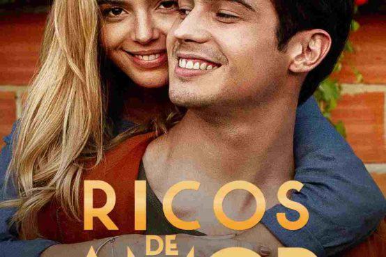 Pôster da nova comédia romântica nacional, da Netflix, Ricos de Amor.