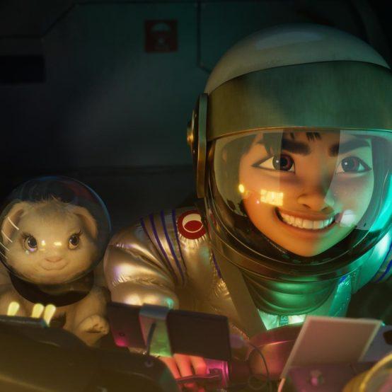 Nova animação da Netflix, A Caminho da Lua