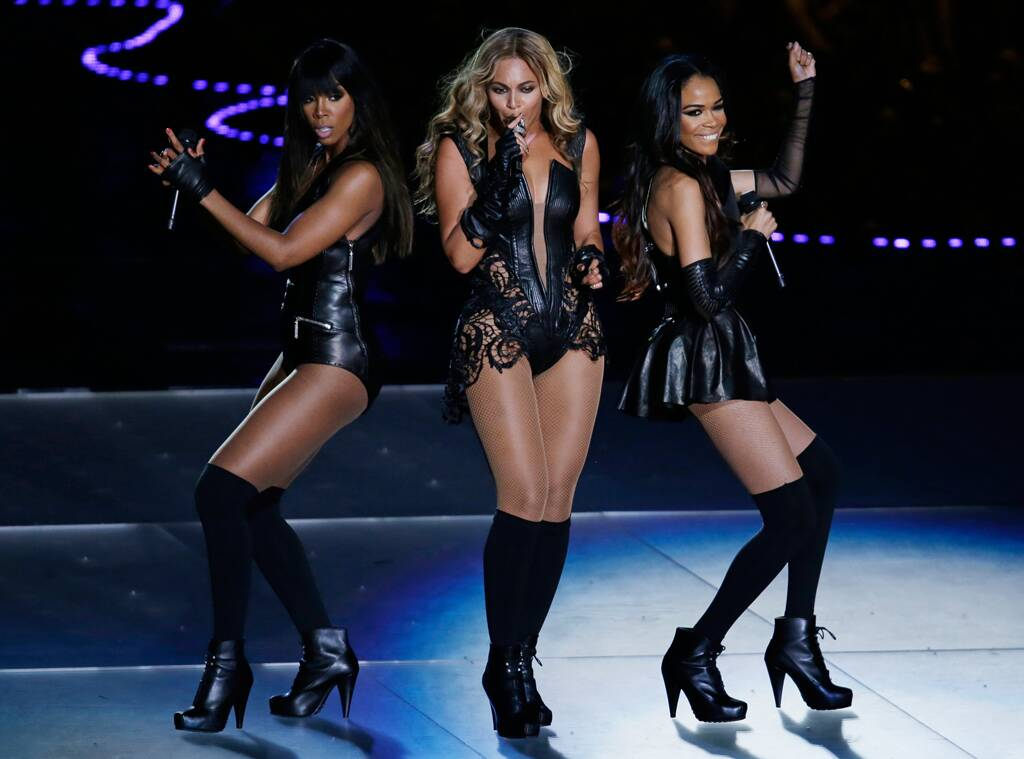 Beyonce Destinys Child Superbowl