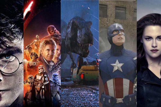 10 Franquias mais restáveis dos cinemas