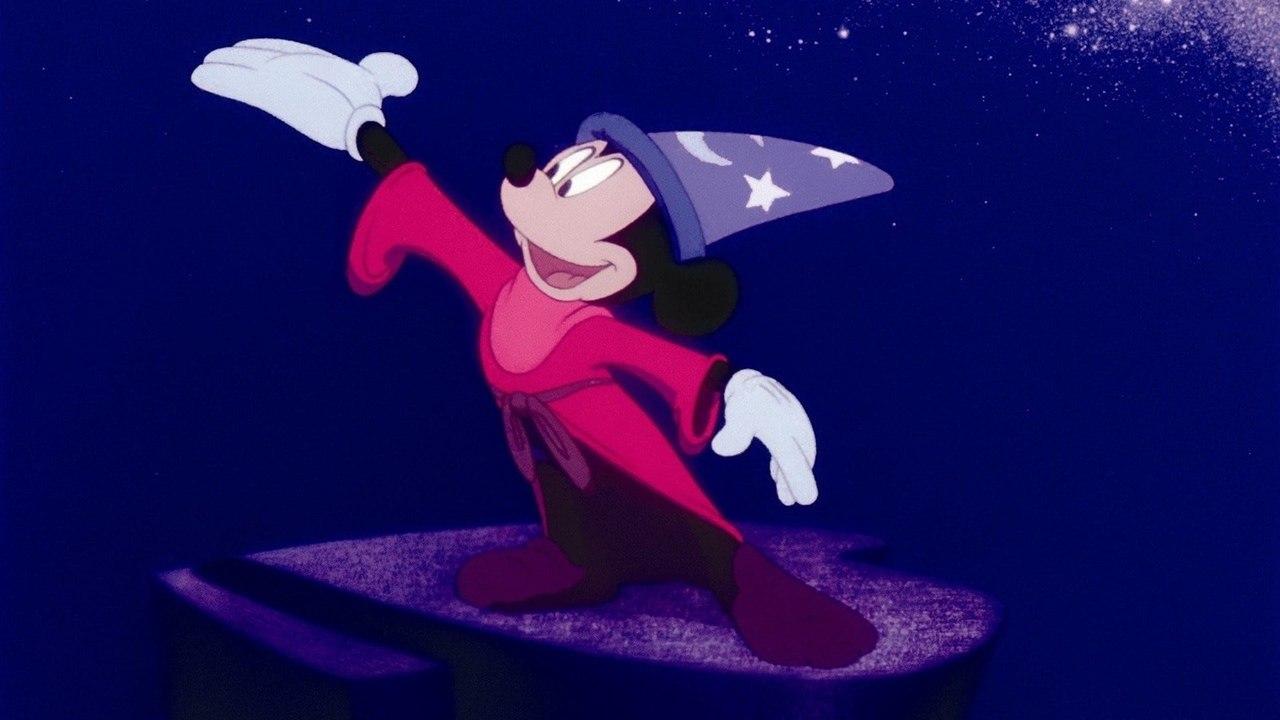 Mickey Mouse em Fantasia
