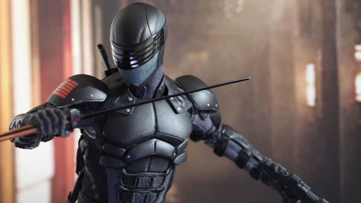 G.I. JOE ORIGENS -SNAKE EYES