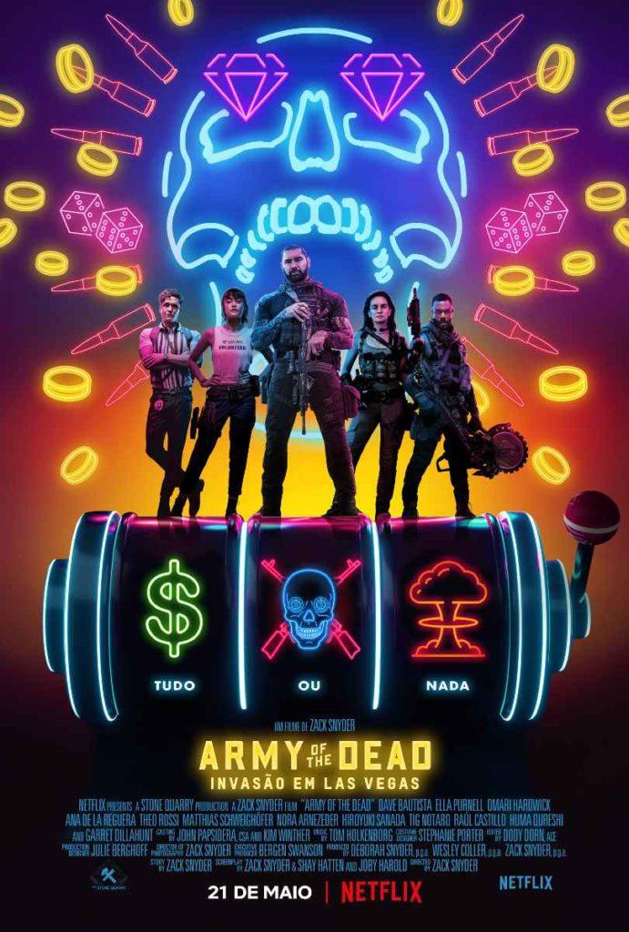 Army of The Dead Invasao em Las Vegas