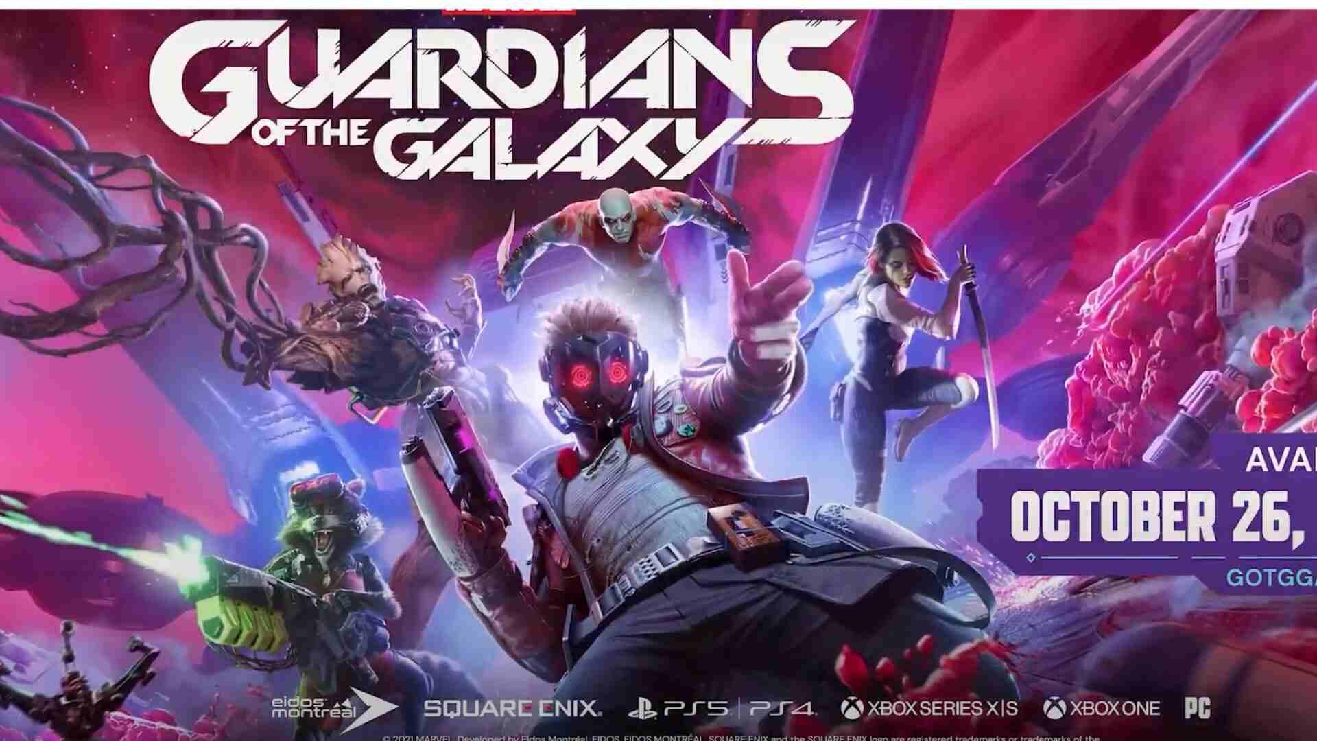 Game Guardiões da Galáxia