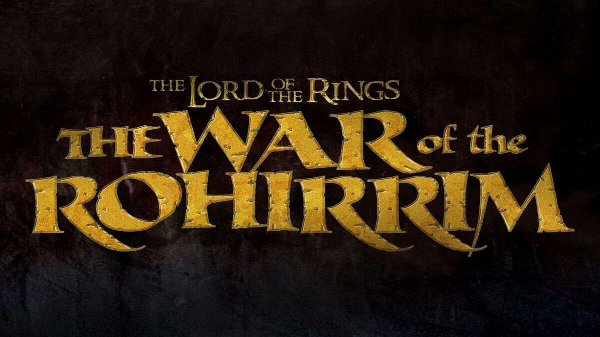 O Senhor Dos Anéis A Guerra Dos Rohirrim
