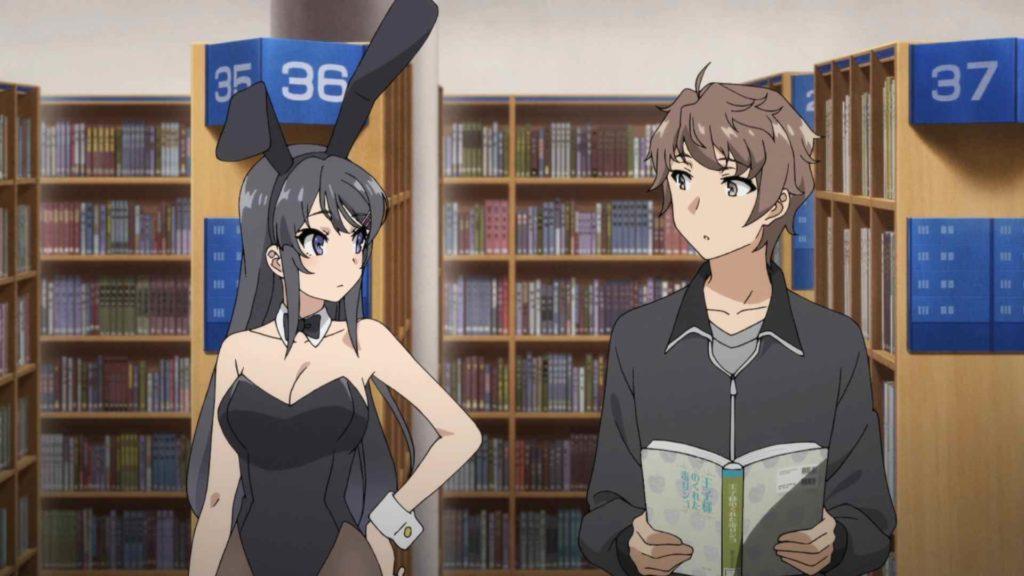 Animes Netflix Agosto - Bunny Girl Senpai