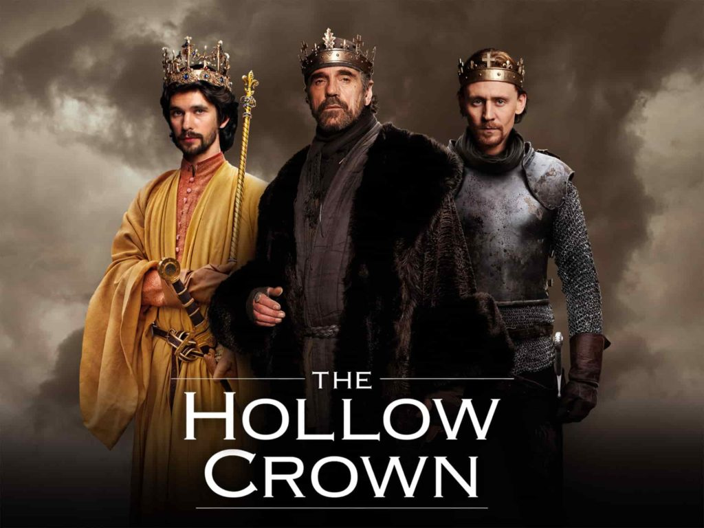 The Hollow Crown Tom Hiddleston Jeremy Irons Ben Whishaw